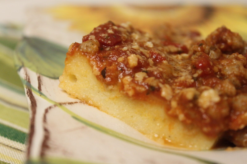Italian Polenta Bake My Food Storage Cookbook