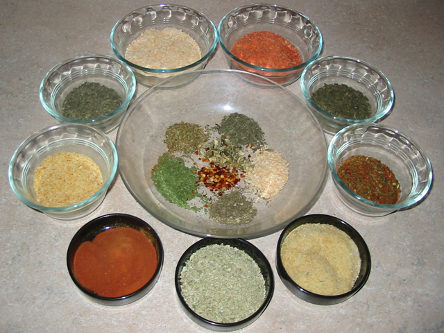 Powdered Dry Vegetables