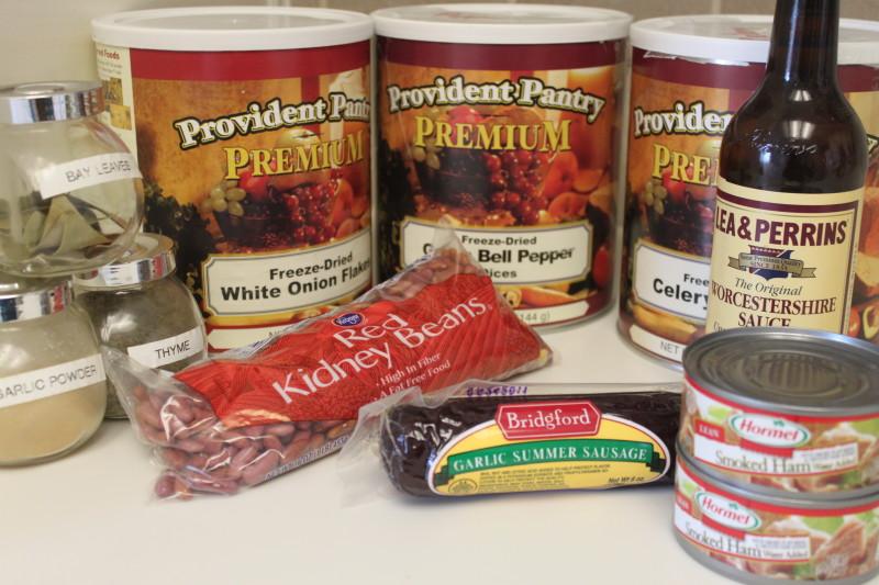 Cajun Red Beans 'n Rice (1)