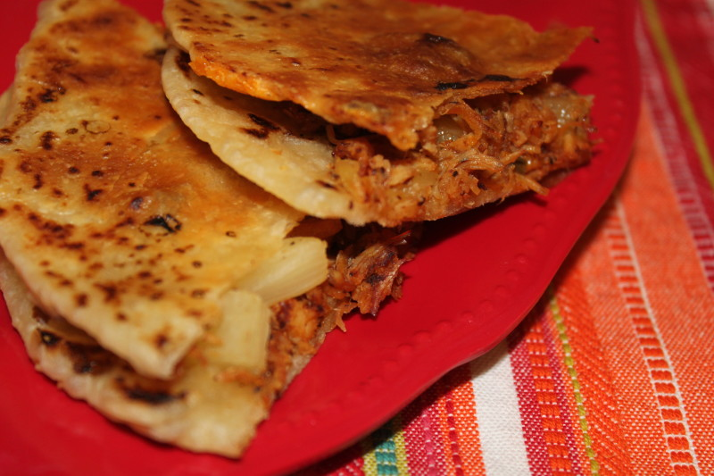 BBQ Chicken & Pineapple Quesadillas – My Food Storage Cookbook