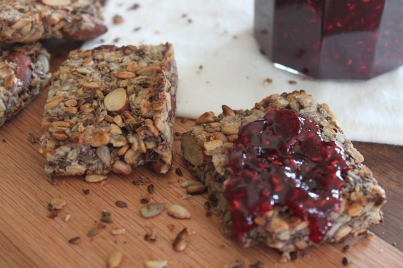 Gluten Free Seed & Nut Bread
