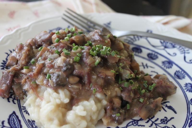 Savory Beef with Mushroom Gravy (15)