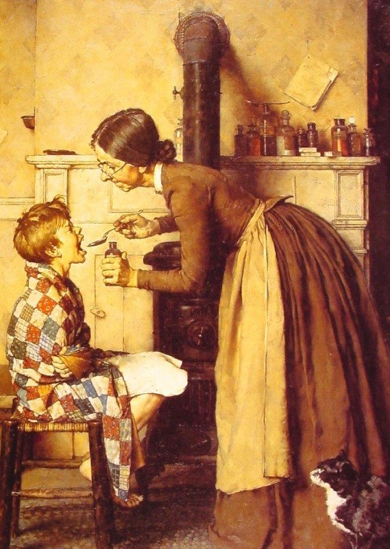 spring-tonic-Norman Rockwell